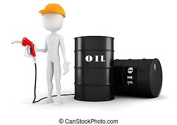 grafické pozadí, pumpa, majetek, palivo, neposkvrněný, voják...