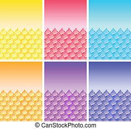 grafické pozadí, rhombs.