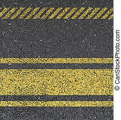 grafické pozadí, s, asfalt, tkanivo