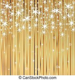 grafické pozadí, s, lesklý, zlatý hřeb
