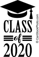 grafico, classe, 2020