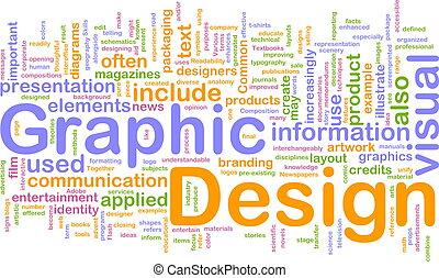 grafico, concetto, disegno, fondo