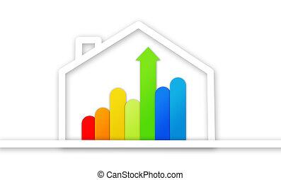 grafico,  ef, presentazione, energia