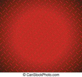 grafico, struttura, metallico, disegno, illustrazione, rosso