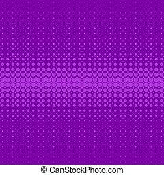 grafico, viola, modello, -, halftone, vettore, fondo, puntino