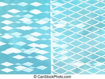 graficzny, abstrakcyjny, minimalistic, -, powierzchnia, papier, projektować, tło, textured