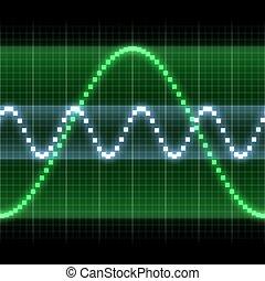 grafiek, signaal