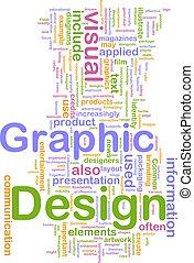 grafik, begriff, design, hintergrund