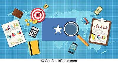 grafik, finanz, land, afrikas, tabelle, abbildung, vektor, wirtschaftlich, somalia, schaubild, werkzeuge, bedingung, wirtschaft