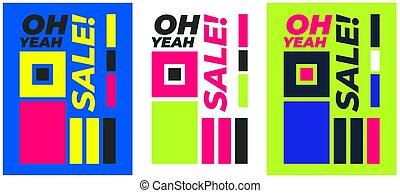grafik, plakat, freitag, verkauf, design, schwarz, tamplate,...