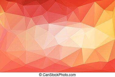 grafik, rumpled, style.vector, bunte, abstrakt, dreieckig,...