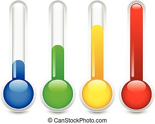grafika, termometr