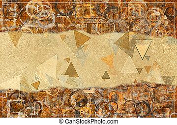 grafikus, háttér, &, motívum, elvont, háttérfüggöny, alakít, artistic., artwork., dekoráció, tervezés