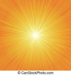 grafisch, lijnen, 01, effecte, achtergrond, radiaal, sinaasappel, snelheid