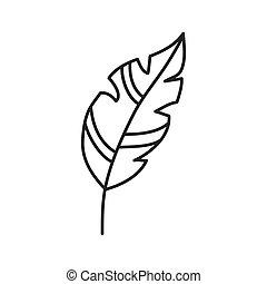 pluim pictogram pluim creatief ontwerp pictogram