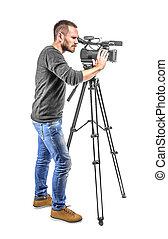 grafische camera, anwender