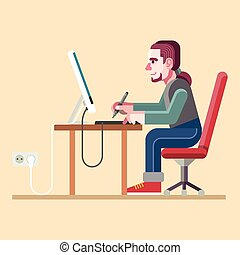 grafische ontwerper