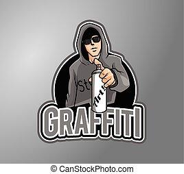 grafitti, 芸術家