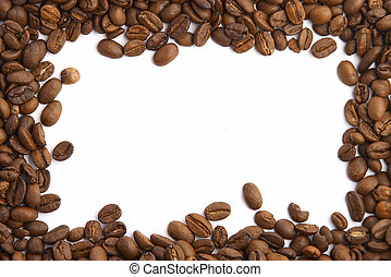 grain café, cadre