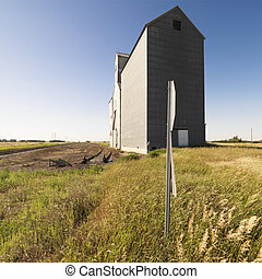 grain, elevator.