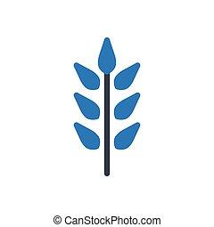 grain  glyph color icon