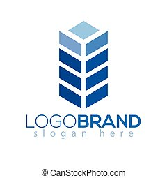 grain square logo vector element. grain logo template