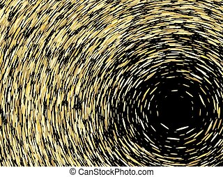 grain texture, vector abstract illustration - Abstract...