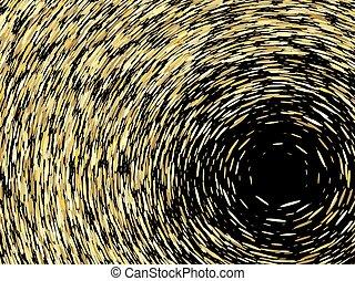 grain texture, vector abstract illustration - Abstract...