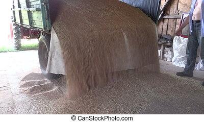 grain trailer farm room