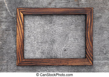 grain wood picture frame