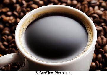 Grained coffee
