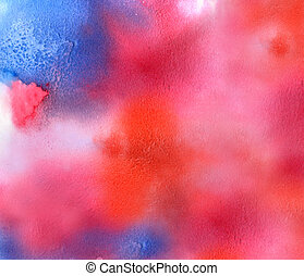grained rough texture watercolor background - bright...