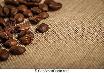 grains café, fond