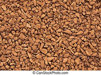 Grainy coffee - Grainy brown closeup dry coffee closeup...