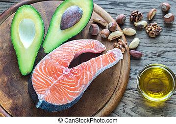 graisses, omega-3, nourriture