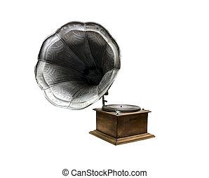 grammofono, vecchio