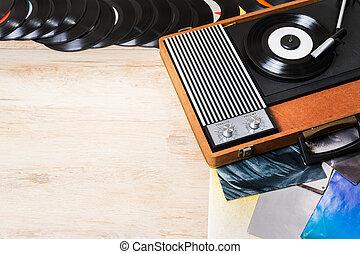 Gramophone and vinyl