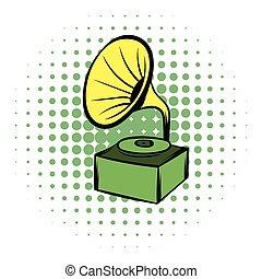 Gramophone comics icon