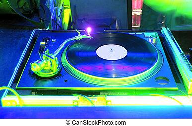 Gramophone - Night Club and vinyl