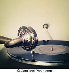 gramophone old vintage classic