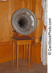 gramophone - old gramophone in palace of the Russian Tsar