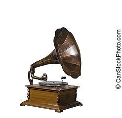 Gramophone player vintage classic