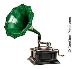 Gramophone - Vintage gramophone record player