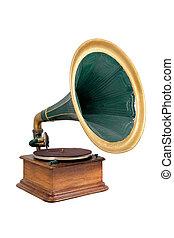 gramophone - retro vinyl player