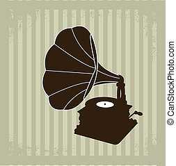 Gramophone vector 2