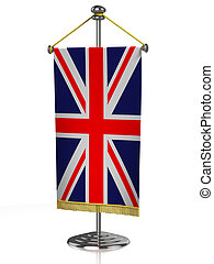 gran bretaña, tabla, bandera