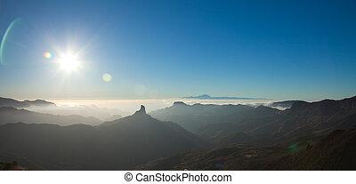 Gran Canaria, Caldera de Tejeda, evening light