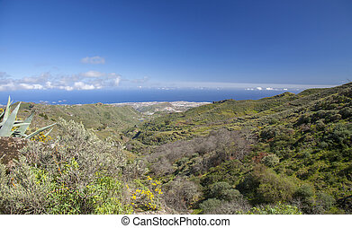 Gran Canaria, February - Gran Canaria, February, view over...
