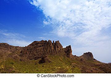 Gran canaria Pargana muntains Canary islands