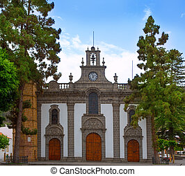 Gran Canaria Teror church Canary islands